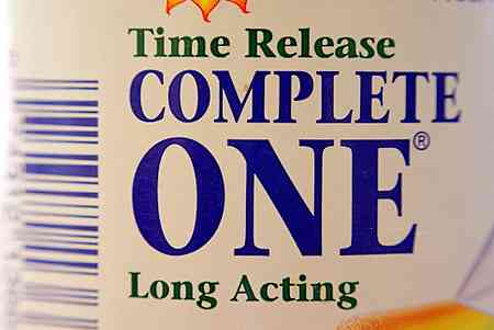 time release vitamins