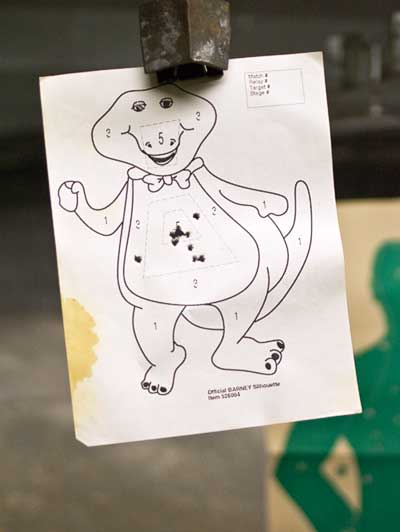 Barney target