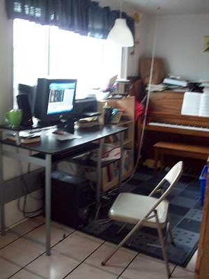 Lex's home office