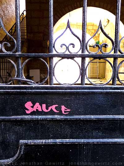 pink sauce