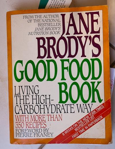 high-carb diet book