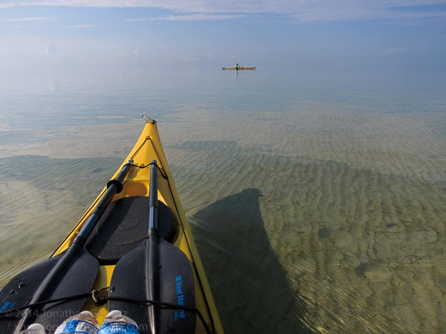 Circumnavigating Key Biscayne by Kayak