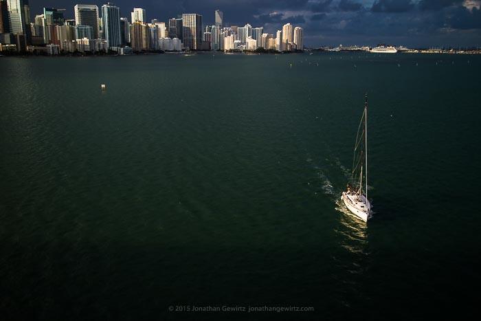 sail, or motor, away