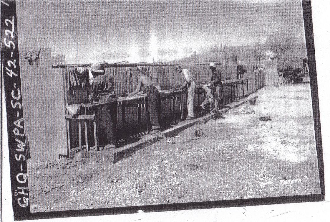29th Quartermaster Truck Regiment at Mt Isa, Australia
