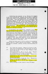 Page 34, 81st ID Operations Report, Palau Islands to New Caledonia to Leyte P.I. to Japan 5 Jan 1945 to 10 Jan 1946