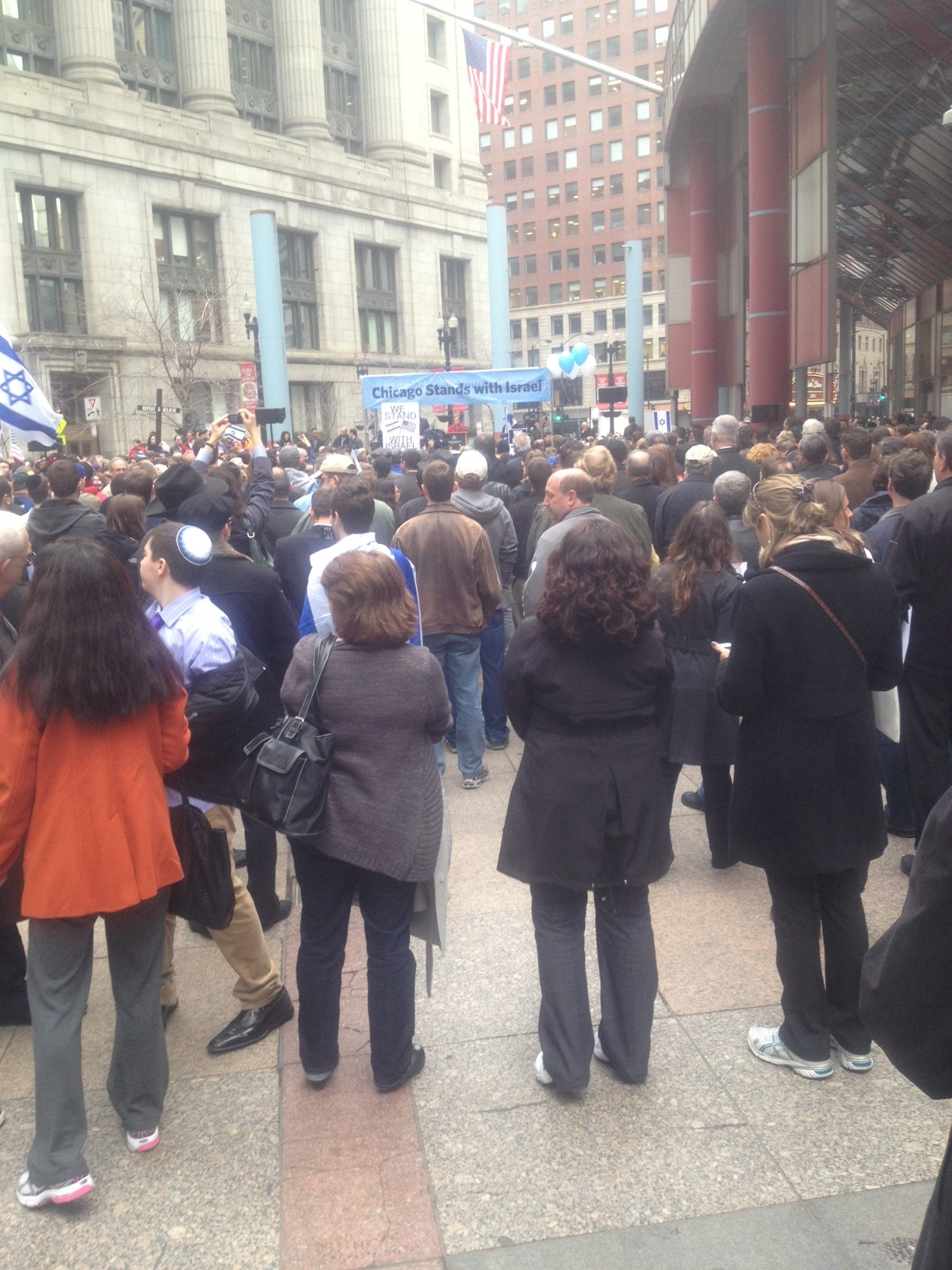 Chicago Stands with Israel 11:20:2012