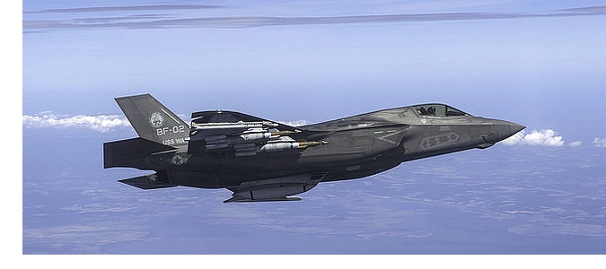 F-35B Carrying External Weapons