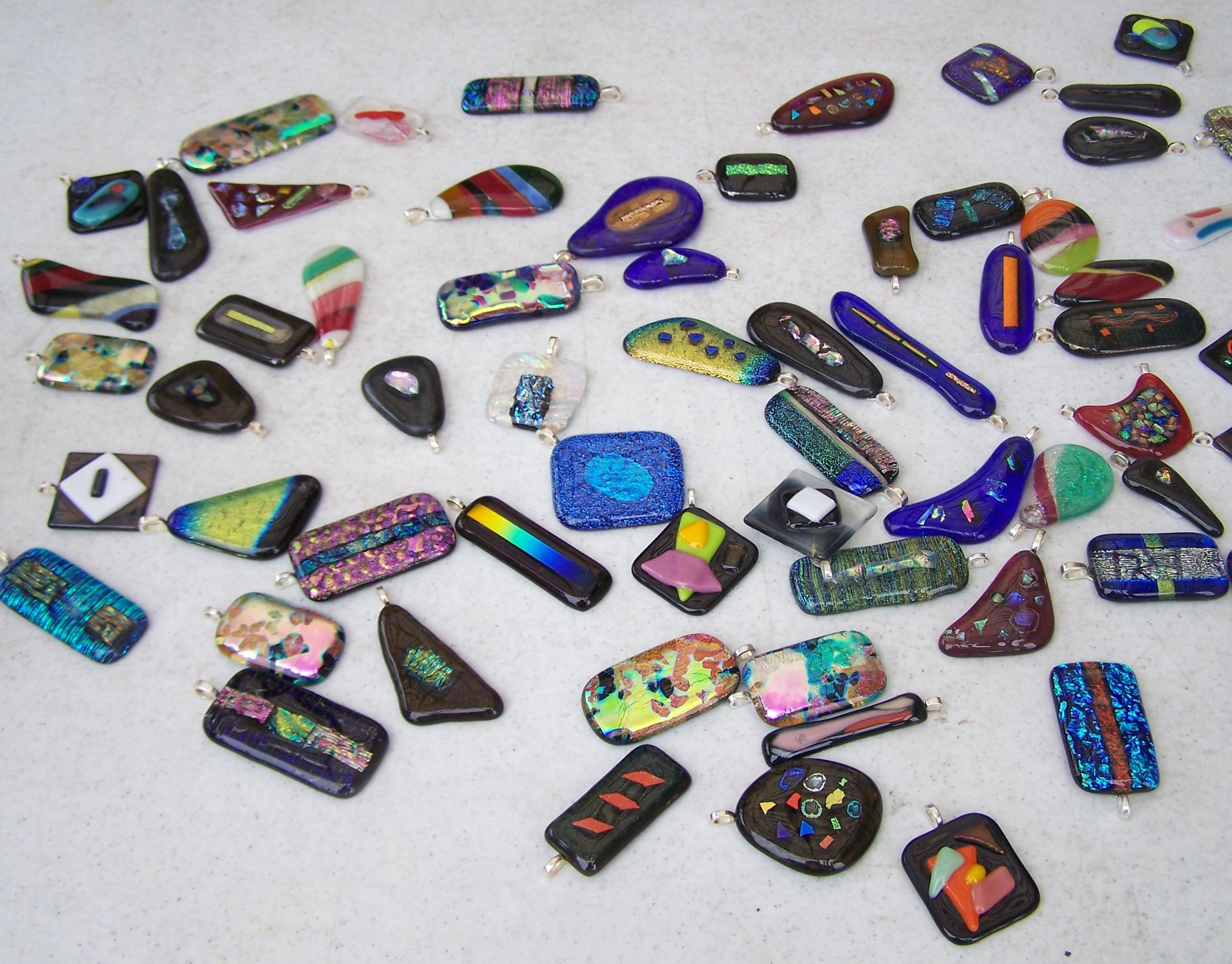 Fused Glass Gems