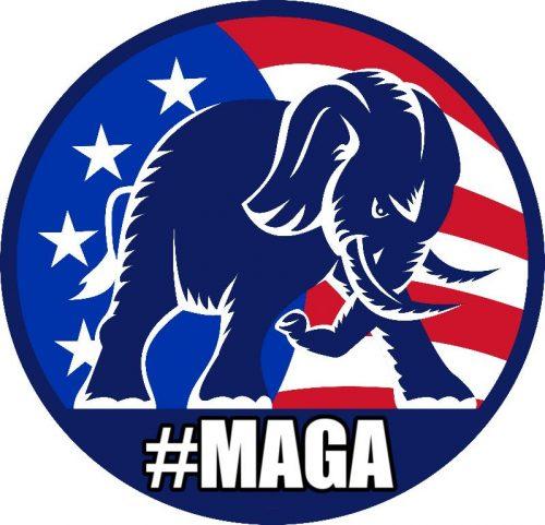 GOP Elephant #MAGA