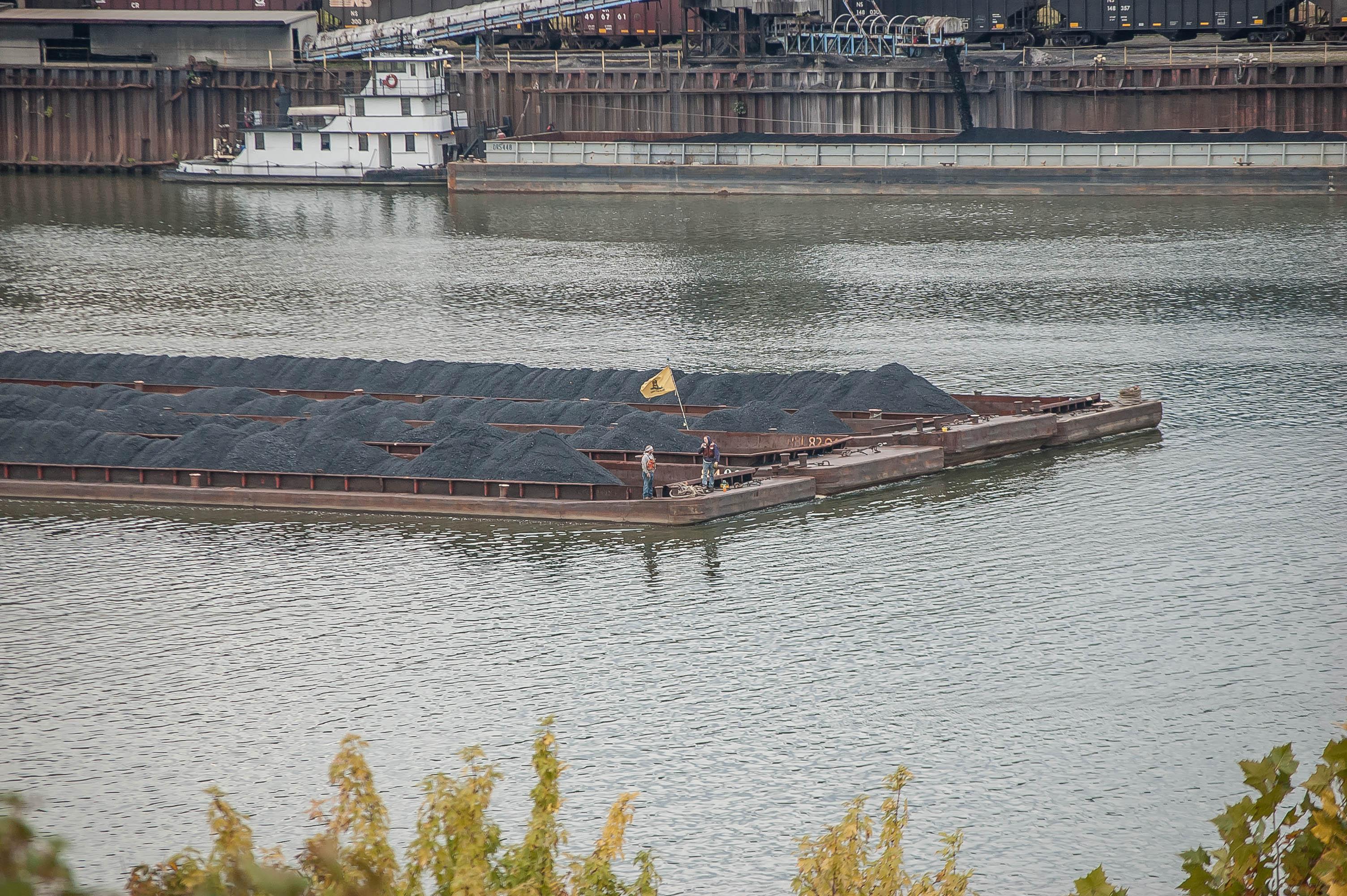 Gadsden Coal Barge