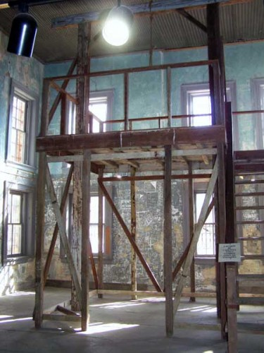 And the ghosts of crime and punishments past ? the gallows in the old ...