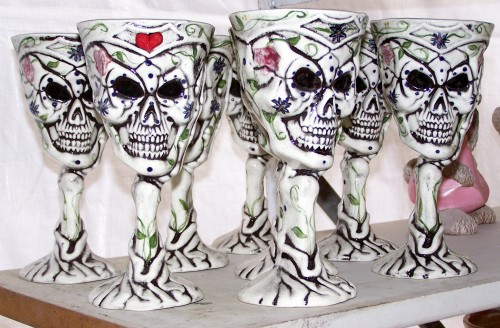 Goblets to Drink the Blood of Your Enemies From
