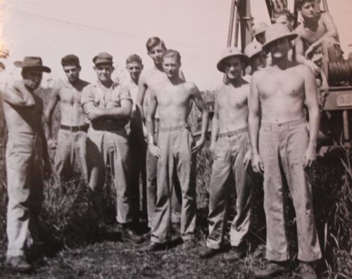 MTSgt MaDonnel Did not work alone. This is the MAG-23 headquarters Squadron Radar Crew on Guadalcanal. Source USMC History Archives, courtesy MACCS History