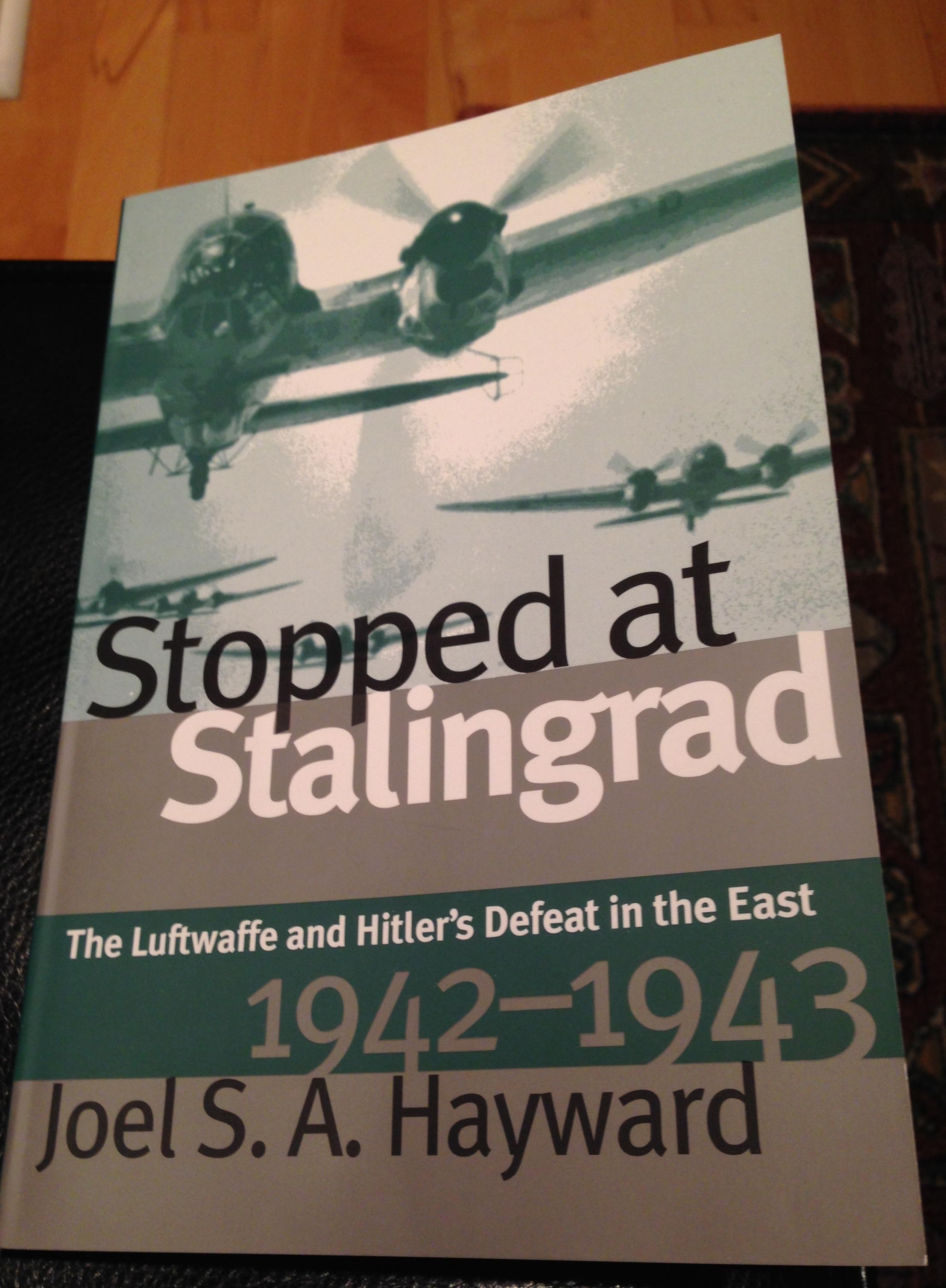 Stopped At Stalingrad by Hayward