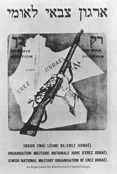 Irgun poster