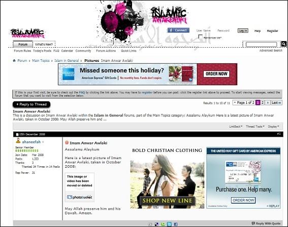 Islamic Awakening w ad