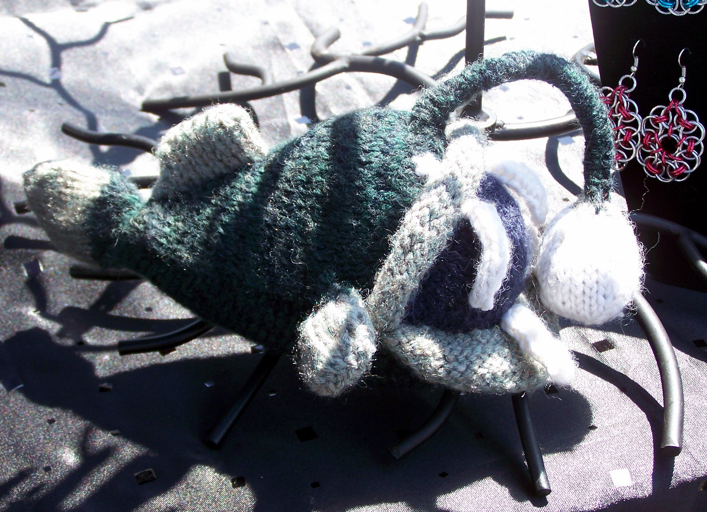 Knitted Angler-Fish