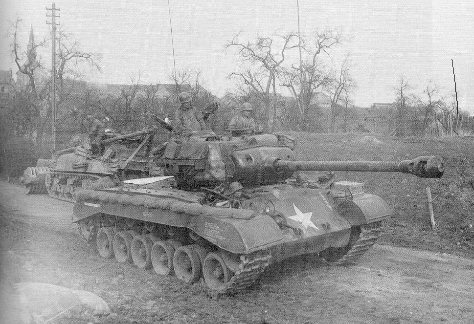M26 Pershing Tank -- Somewhere in Europe in WW2