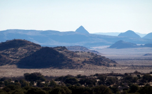 Mitre Peak (1887m/6190') as seen from my lot