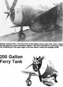 P-47 200-gal Ferry Tank