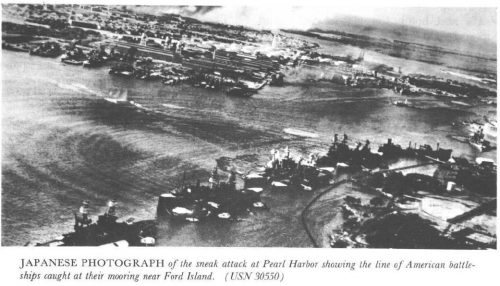 Pearl Harbor Through Japanese bomb sights