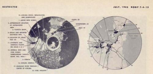Radar Presentation Photo of Shimoseki Straits