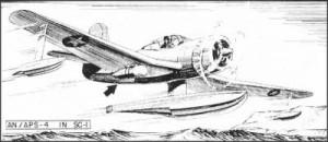 SC-1 Seahawk with ASH airborne radar