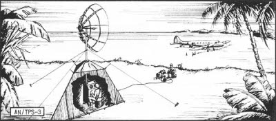 SCR-602 early warning radar derivative AN/TPS-3