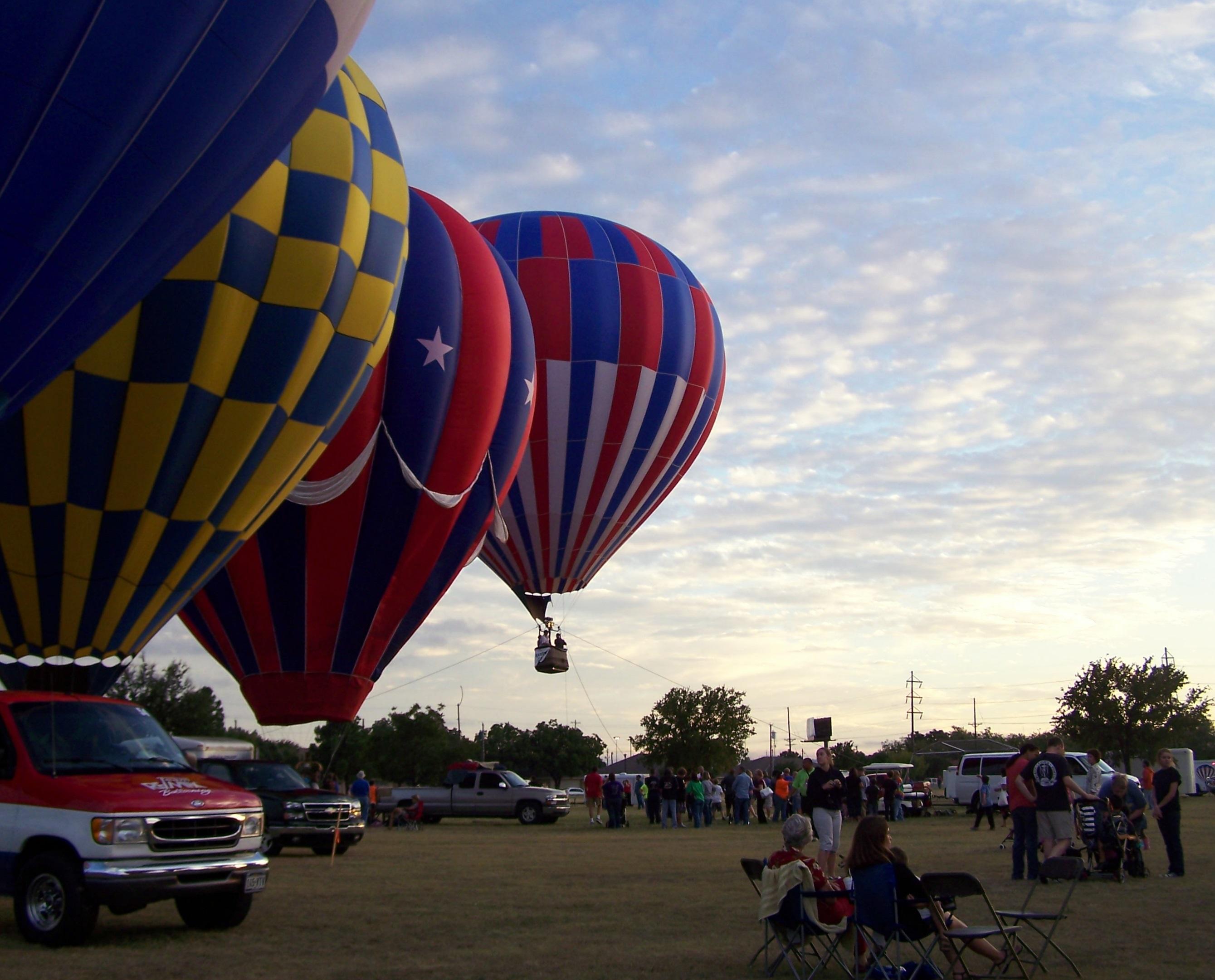 Sunset Sky at Balloonfest
