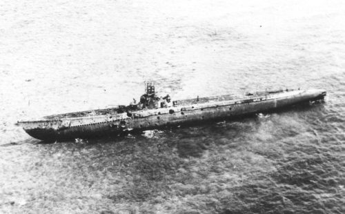 USS Darter (SS-227) grounded on Bombay Shoal off Palawan on 4th patrol, 24 October 1944