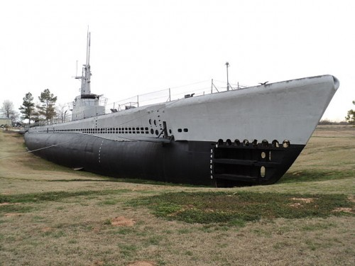 The USS Batfish, the home of one of General MacArthur's Section 22 field units and the killer of three Japanese submarines in a single Feb-March 1945 patrol. -- Photo credit, Wikimedia commons, 2013
