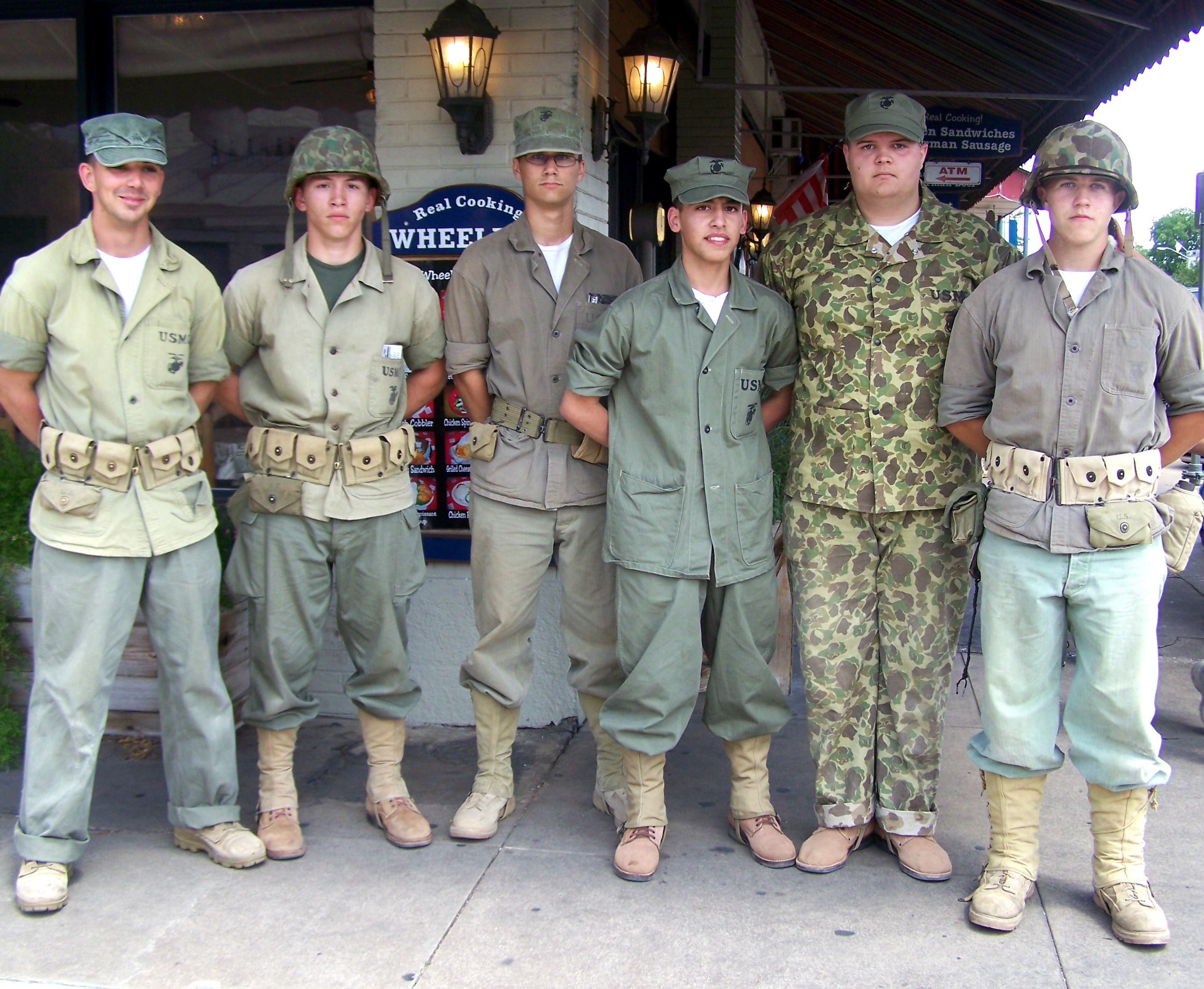 WWII Reenactors - Fredericksburg