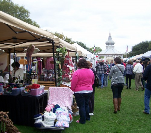 Typical local market - this one is at Boerne, Texas.