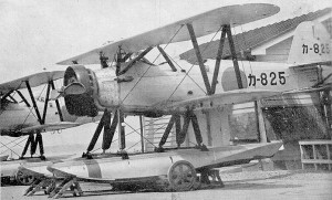 Yokosuka K5Y2 Wood & Canvas Seaplane Code Named: Willow -- Source Wikipedia