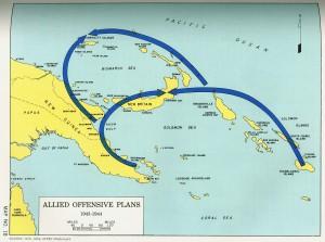Operation Cartwheel Encirclement 1943-1944