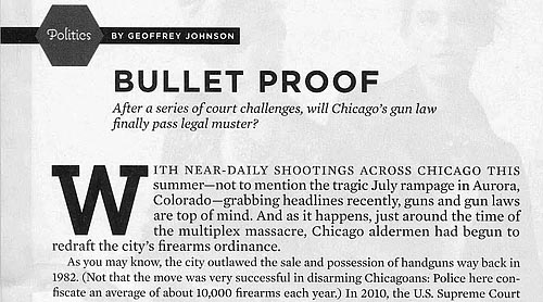 Chicago gun article