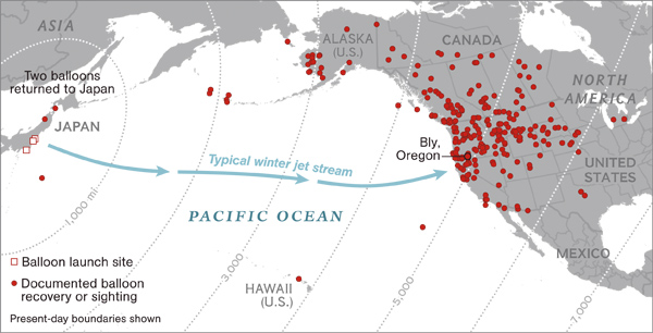 fusen bakudan balloon-bomb-impact-map_67790_600x450