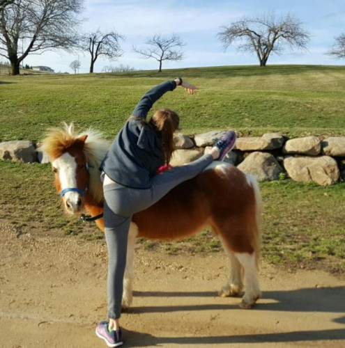 kid-horse