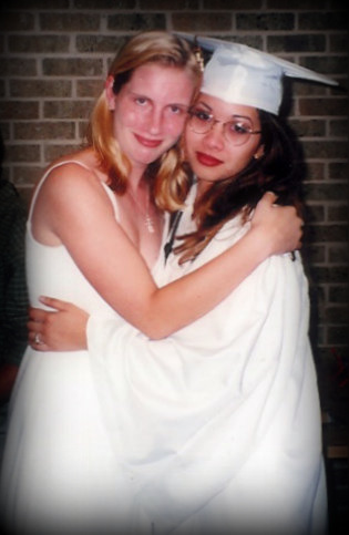 me and Jeanne at graduation-001