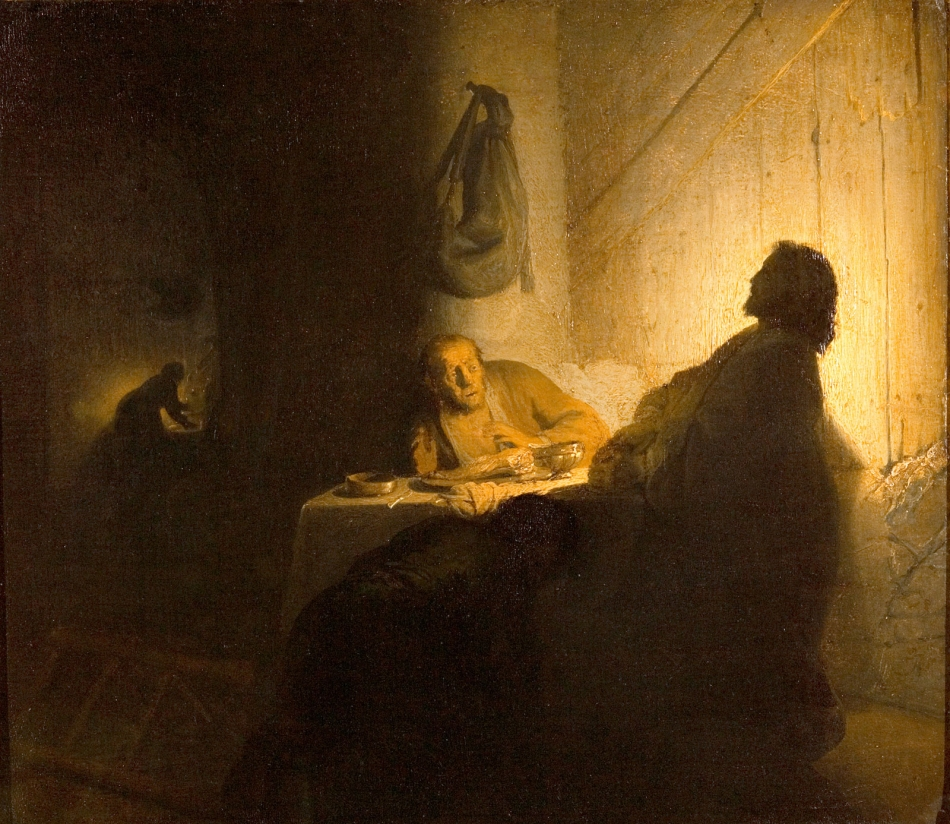 Supper at Emmaus (1642), Rembrandt van Rijn